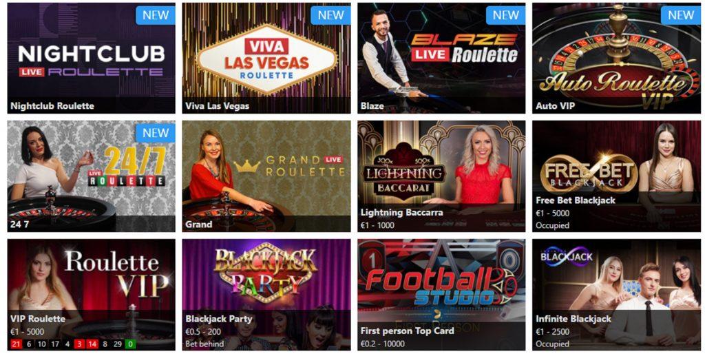 Живое казино Mr. Play