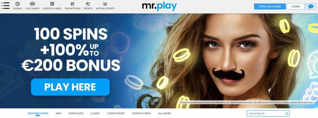 Mr. Play главная страница